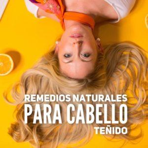 Remedios naturales para cabello teñido